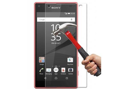 Sony Xperia Z5 Compact Krasbestendige Glazen Screen Protector