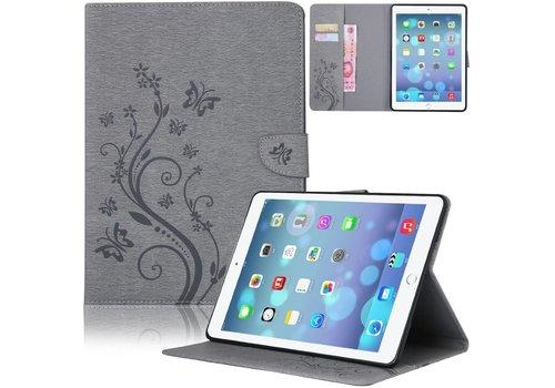 Grijs Creatieve Tablet Hoes met Bloemen Design iPad mini 4