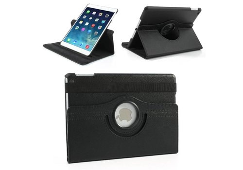 Apple iPad 2 / 3 / 4 - 360 graden draaibare Hoes - Kleur Zwart
