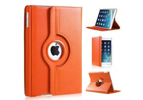 Apple iPad Air 1 (iPad 5) - 360 graden draaibare Hoes - Kleur Oranje