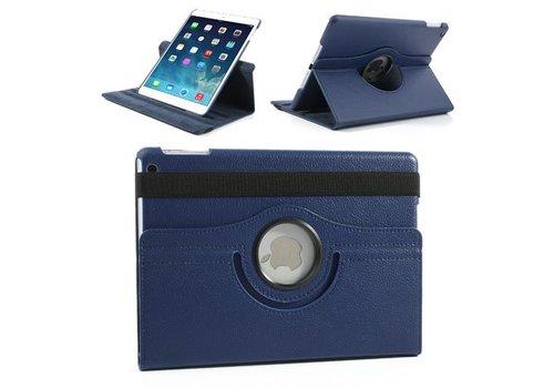 Apple iPad Air 1 (iPad 5) - 360 graden draaibare Hoes - Kleur Donker Blauw