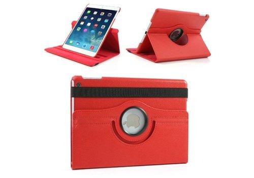 Apple iPad Mini 1 / 2 / 3 - 360 graden draaibare Hoes - Kleur Rood