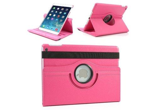 Apple iPad 2 / 3 / 4 - 360 graden draaibare Hoes - Kleur Hot Pink