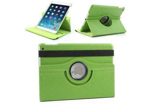 Apple iPad Air 1 (iPad 5) - 360 graden draaibare Hoes - Kleur Groen