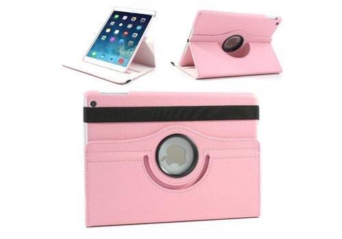 Roze 360 graden draaibare hoes iPad 2 / 3 / 4