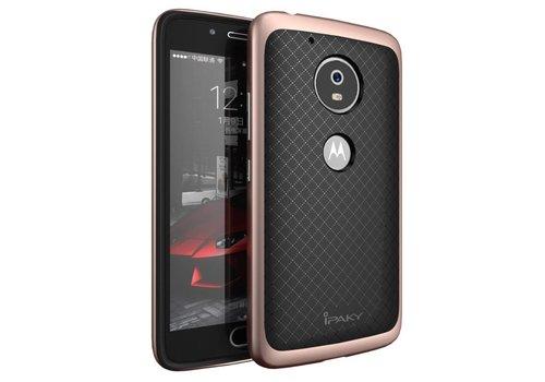 Motorola Moto G5 - Hybride TPU Backcase Hardcase Stevig Hoesje - Rose Goud