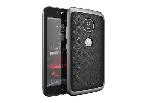 Motorola Moto G5 - Hybride TPU Backcase Hardcase Stevig Hoesje - Grijs