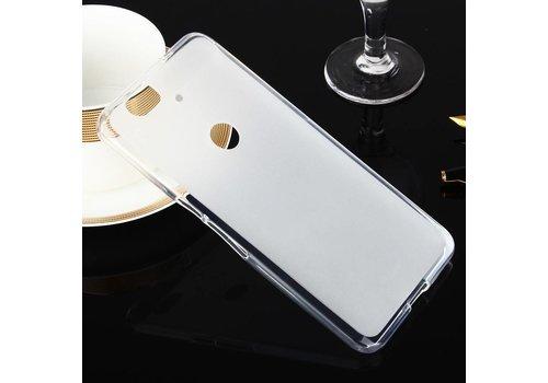 Huawei Nexus 6P - Zachte Frosted TPU Hoesje Anti-slip Back Case - Mat Wit