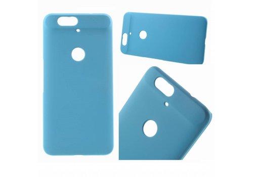 Huawei Nexus 6P - Harde Back Case Anti-fingerprint Hoesje - Aqua Blauw Hemelsblauw