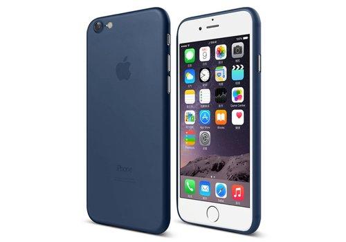 Apple iPhone 7 / 8 - Ultra Dunne Mat PC Back Case - Donker Blauw