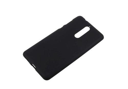 Nokia 8 - Matte TPU Shell Back Case - Zwart