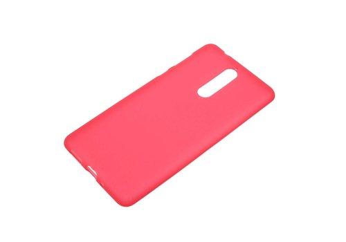 Nokia 8 - Matte TPU Shell Back Case - Rood