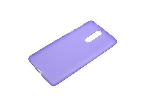Nokia 8 - Matte TPU Shell Back Case - Paars
