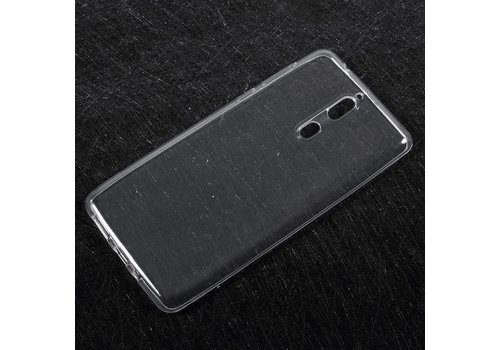Nokia 8 - Zachte Helder TPU Back Case - Transparant