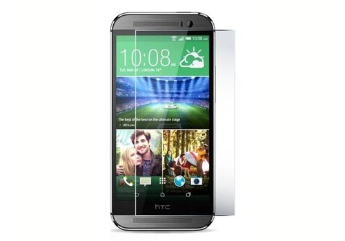HTC One M8/M8s Krasbestendige Glazen Screen Protector