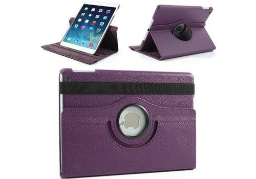 Apple iPad 2 / 3 / 4 - 360 graden draaibare Hoes - Kleur Paars