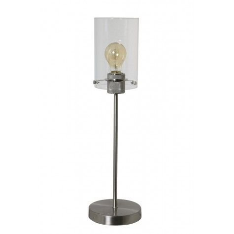 Davidi Design Vancouver retro tafellamp Zilver