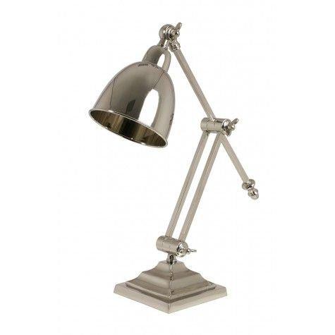 Davidi Design Cleo retro bureaulamp Zilver