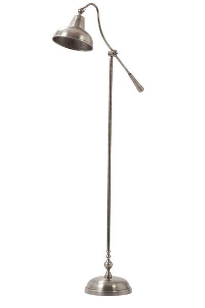 Davidi goedkope Edgar Vloerlamp Antiek Zilver