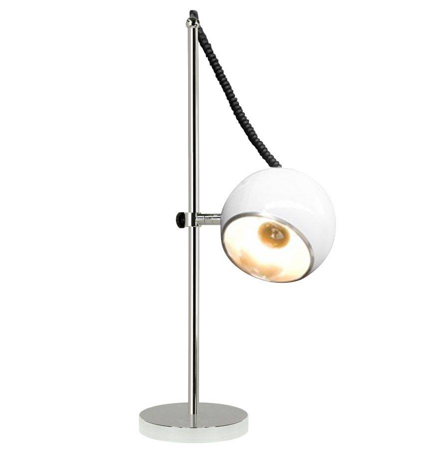 Bondy Living Witten retro tafellamp Wit