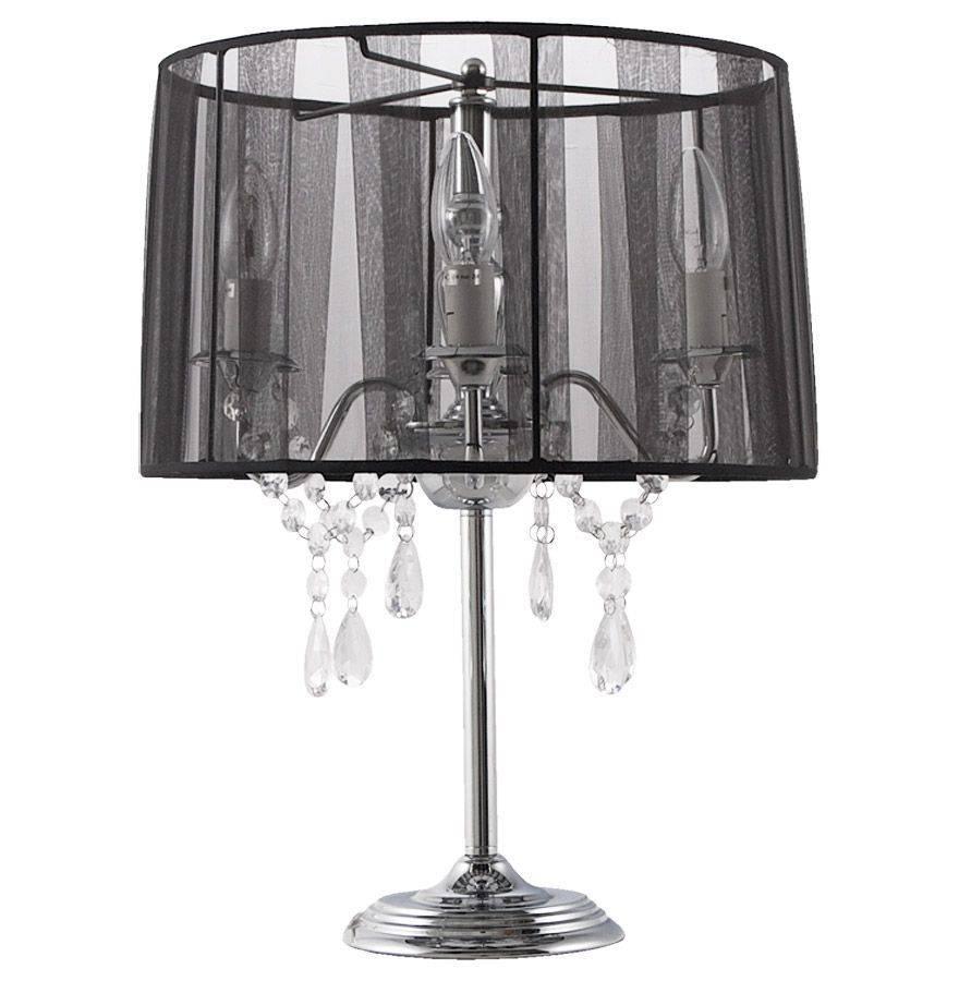 Bondy Living Gera retro tafellamp Zwart