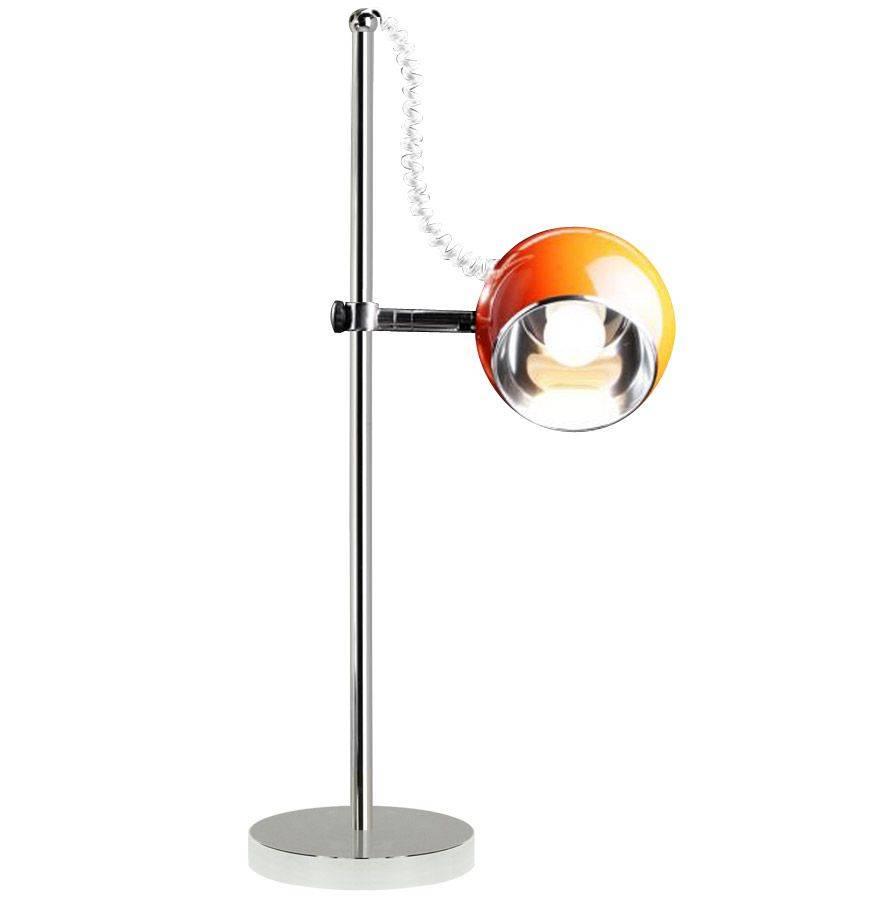 Bondy Living Witten retro tafellamp Oranje