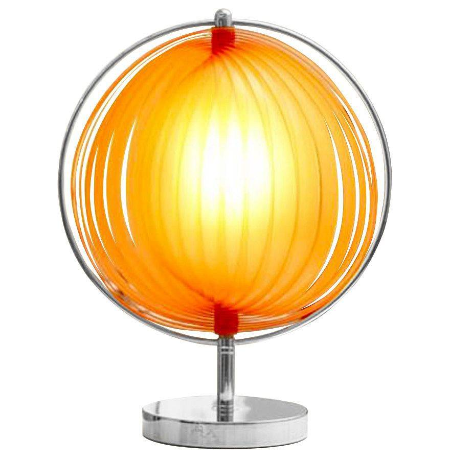 Bondy Living Bonn retro tafellamp Oranje