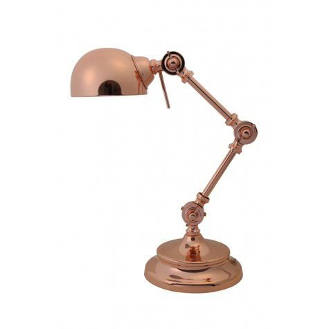 Davidi retro Willmore Bureaulamp Rosé