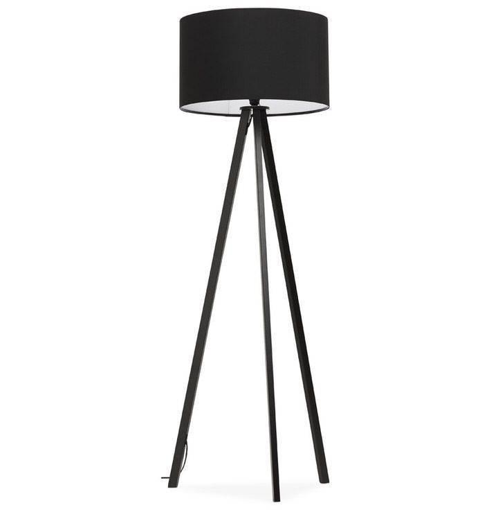 Bondy Living Benson Vloerlamp Zwart