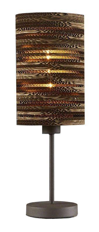 Davidi Design Mink retro tafellamp Bruin