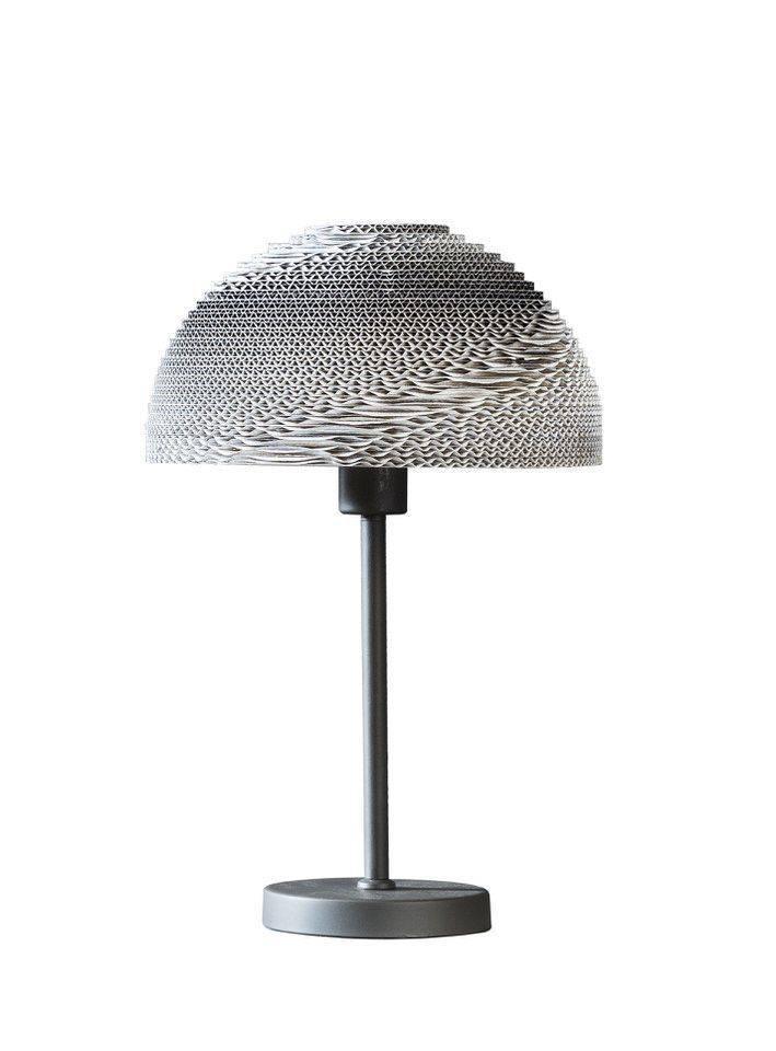 Davidi Design Evan retro tafellamp Wit