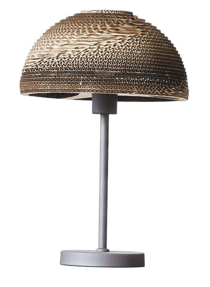Davidi Design Evan retro tafellamp Bruin