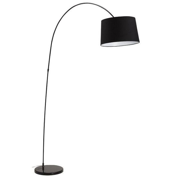 Bondy Living Basker Vloerlamp Zwart