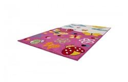 Amigo Vlinder Kindervloerkleed 160x230 Roze