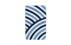 In Style Badmat Blauw 65x110