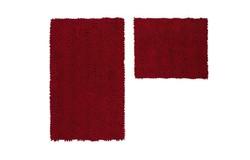 Vogue Badmat Bordeaux Set van 2 Basic