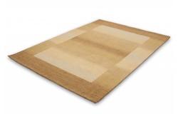 Gabbeh Wollen Vloerkleed 70x140 Beige 550