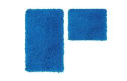 Cosmopolitan Badmat Blauw Set van 2 Basic