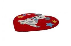 Magic Vormen Kindervloerkleed Rood