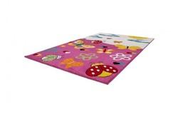 Amigo Vlinder Kindervloerkleed 120x170 Roze