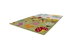 Amigo Vlinder Kindervloerkleed 120x170 Groen