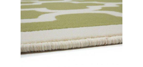 Kayoom Manolya Vloerkleed 200x290 Groen/Wit