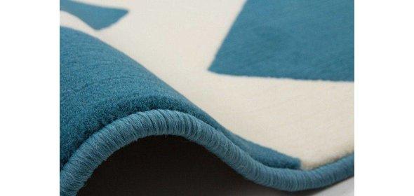 Kayoom Manolya Vloerkleed 120x170 Turquoise