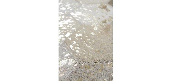 Kayoom Spark Vloerkleed 160x230 Ivory/Goud 210