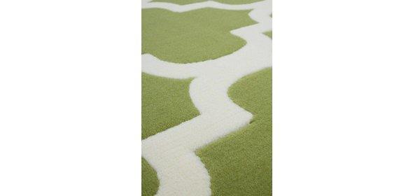 Kayoom Manolya Vloerkleed 120x170 Groen/Wit