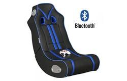 Ninja Gamestoel Blauw met Bluetooth