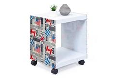 Cube Bijzettafel Vlaggen