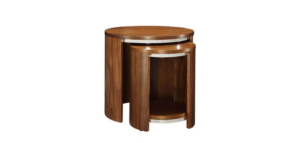 Jual Furnishings Tobin Bijzettafel Walnoot