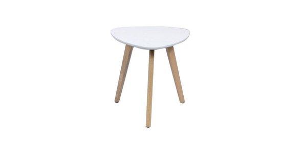 Davidi Design Trema Bijzettafel Wit