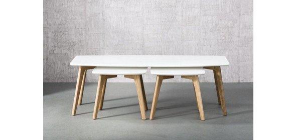 Davidi Design Logan Salontafel Wit